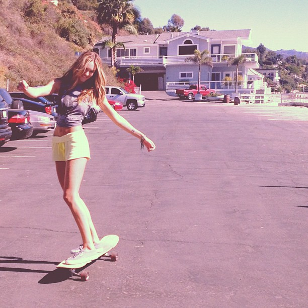 candice swanepoel, model, and skate image