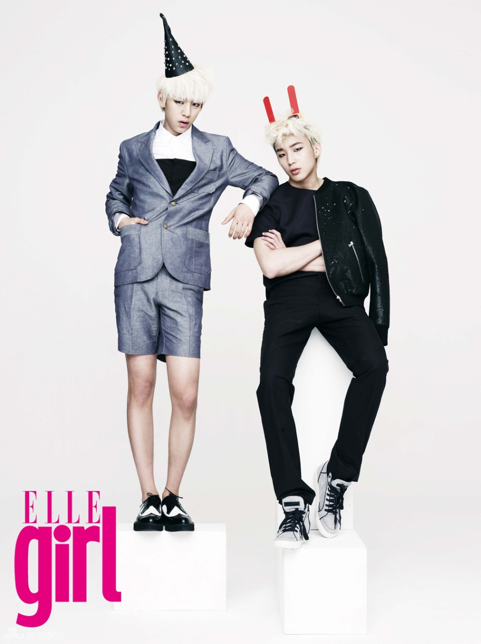 Elle, kpop, and bap image