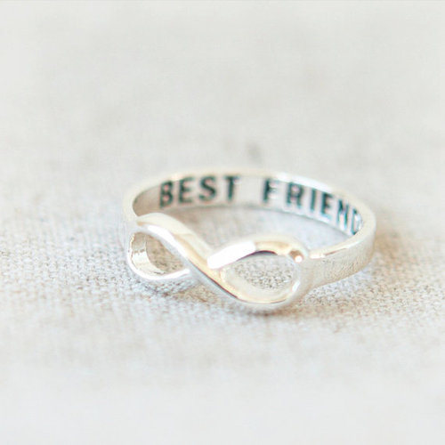 best friends, infinity, and ring image