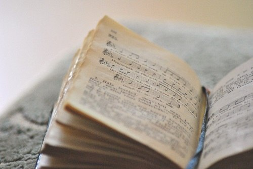 music, book, and vintage image