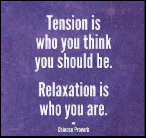 life, relaxation, and quote image
