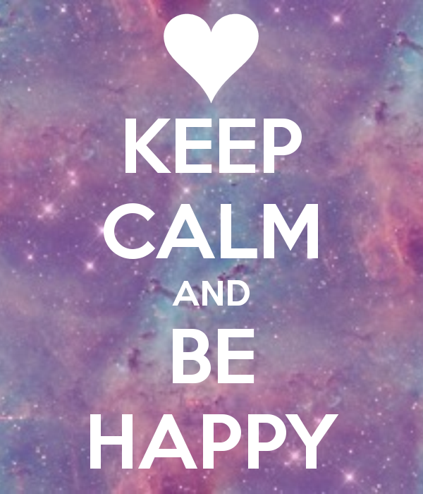 happy and keep calm image