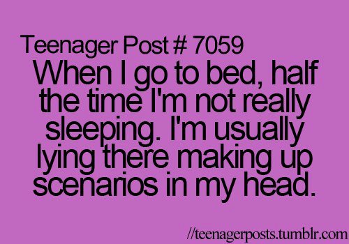 teenager post, quotes, and bed image