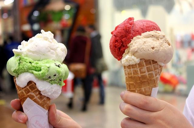 ice cream, food, and cute image