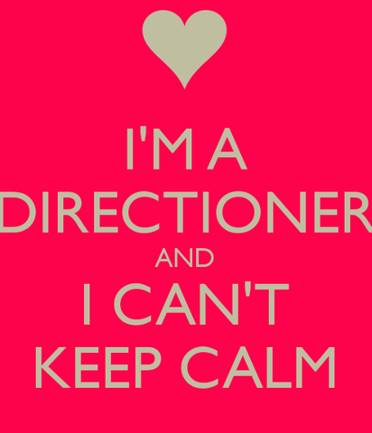 one direction, directioner, and keep calm image
