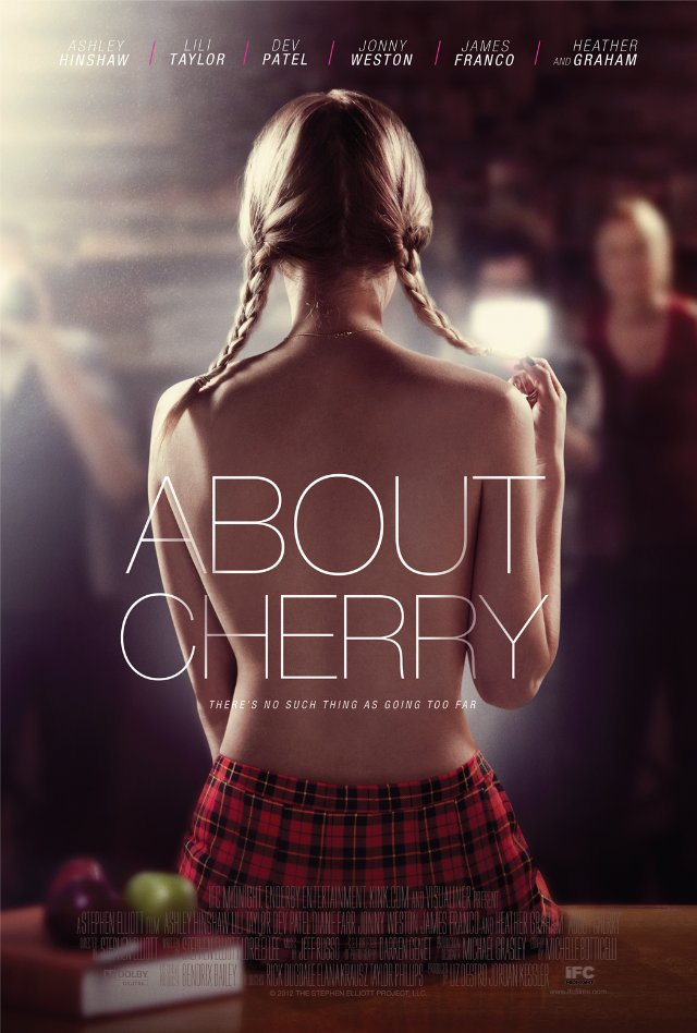 james franco, ashley hinshaw, and about cherry image