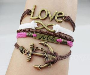 love, bracelet, and faith image