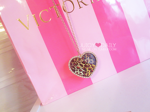 Victoria's Secret, heart, and pink image