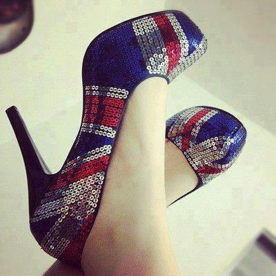 shoes, heels, and england image