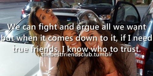 argue, best friends, and fight image