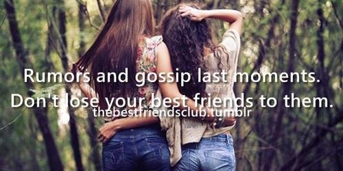 best friends, gossip, and last image