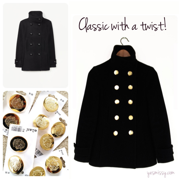 buttons, coat, and crafting image