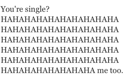 single, text, and funny image