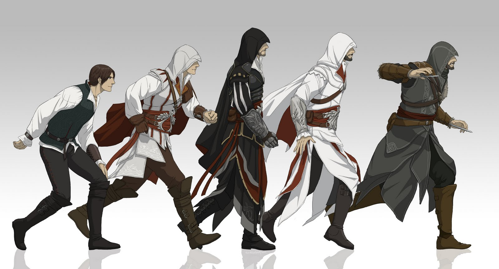 assassin's creed and evolution image