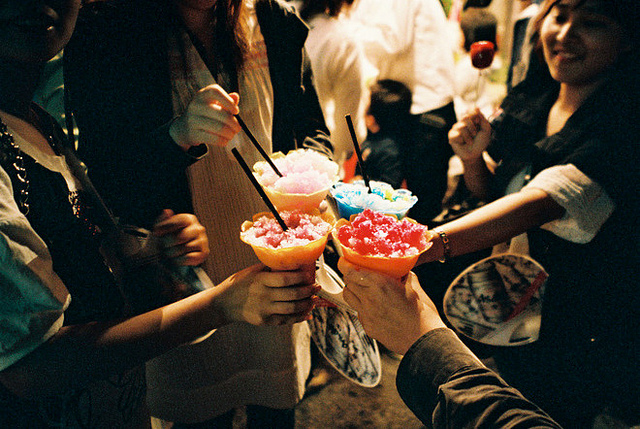 party, drink, and friends image