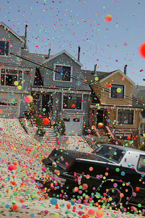 ball, balloons, and car image