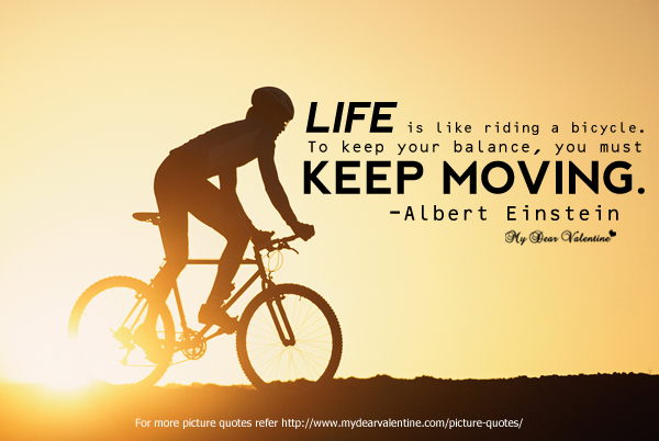 life, keep moving, and quotes image