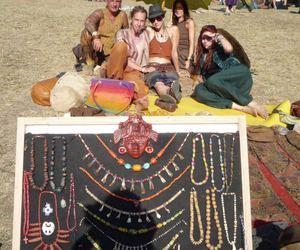 festival, jewellery, and ozora image