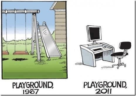 funny, playground, and true image