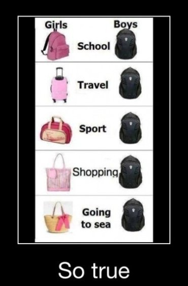 boys, back pack, and girls image