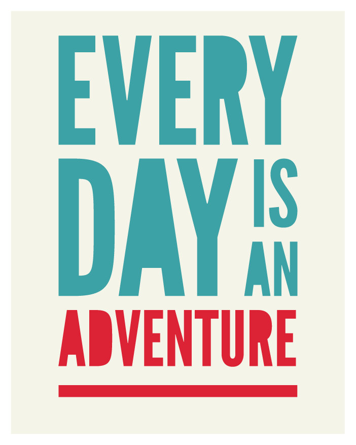 adventure, quote, and day image