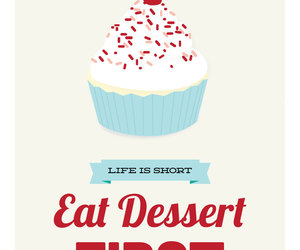 cupcake, dessert, and sweet image