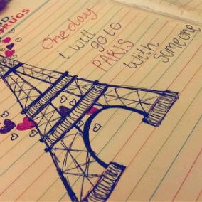 paris, eiffel, and one day image