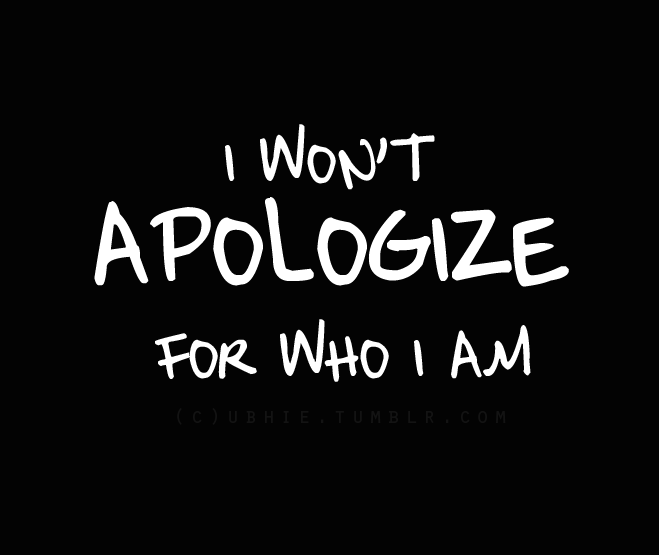 quotes, apologize, and text image