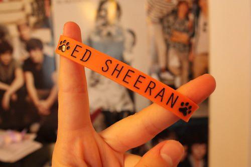 ed sheeran, orange, and ed image