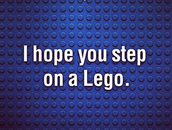 funny, lego, and quote image