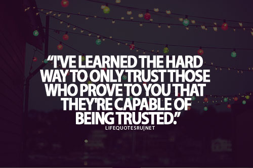 life, quote, and trust image