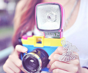 camera, photography, and butterfly image