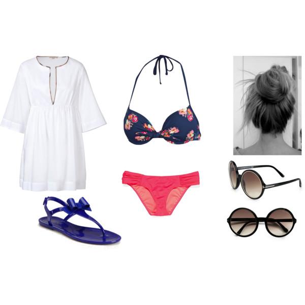 beachwear, Burberry, and fashion image