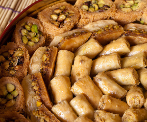 baklava and yummy image