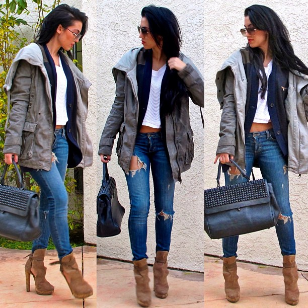bag, leggings, and outfit image