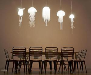 jellyfish and lamps image