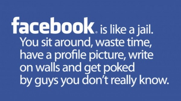 facebook, funny, and quote image