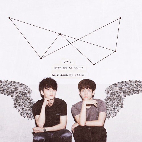 exo, baekhyun, and guys image