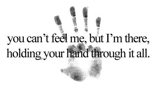 hand, love, and quote image