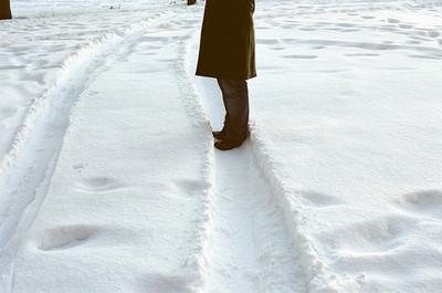 art, winter, and coat image