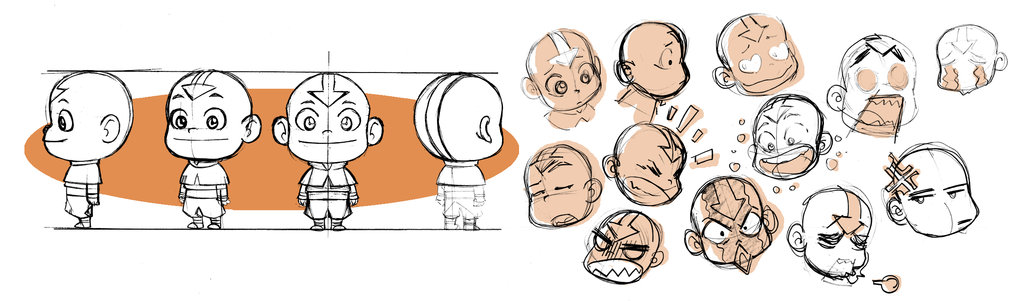 avatar, chibi, and aang image