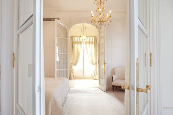 room, white, and interior image