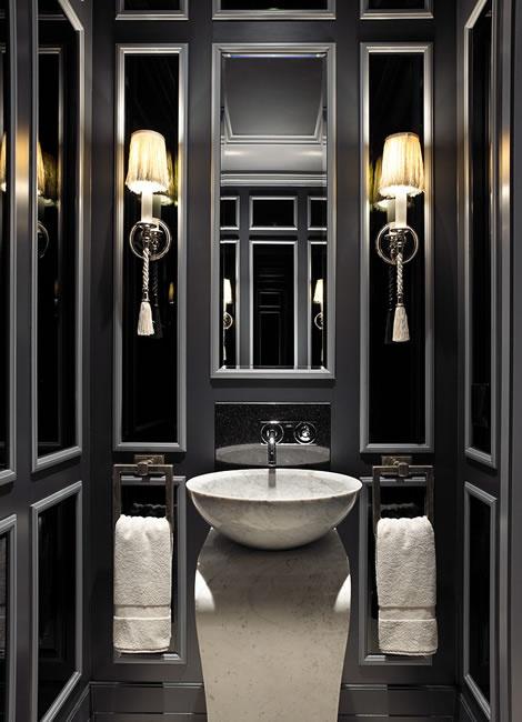 bathroom and black image