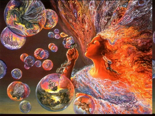 bubbles and art image