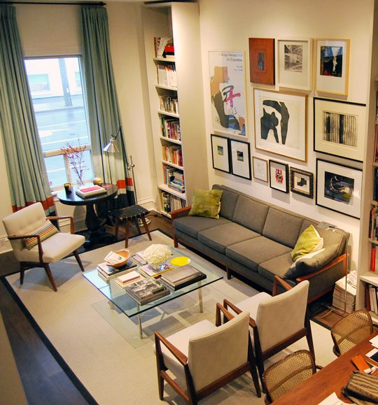 apartment and living room image
