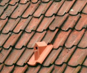 birdhouse, roof, and roof tile image
