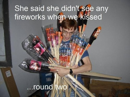 funny, fireworks, and lol image