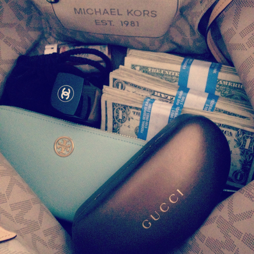 gucci, money, and chanel image