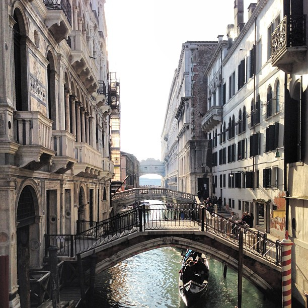 venice, breathtaking, and canal image