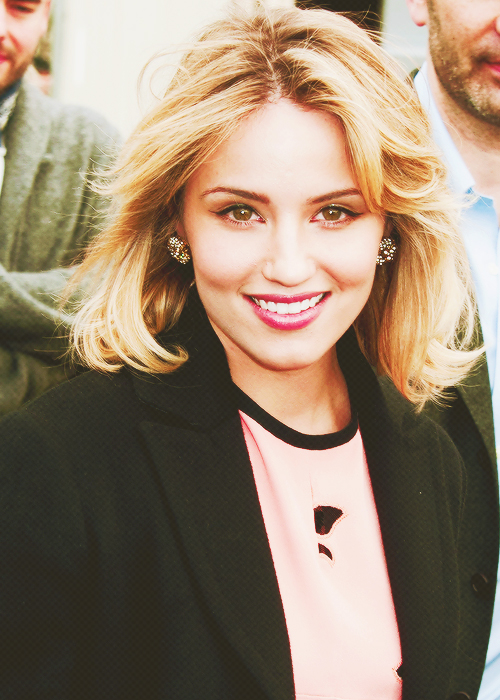 beautiful, blonde, and glee image